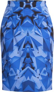 Niebieska spódnica Gaberon midi