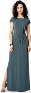 Sukienka POTIS & VERSO w stylu casual z tkaniny z okrągłym dekoltem
