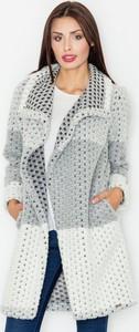Płaszcz Figl z wełny w stylu casual