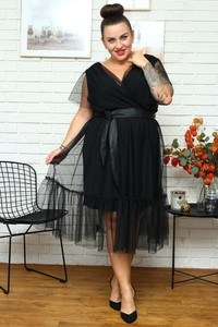 Sukienka KARKO z tkaniny
