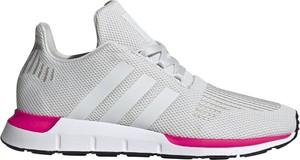 Buty sportowe Adidas Performance z płaską podeszwą sznurowane