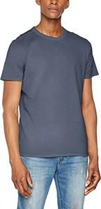 Niebieski t-shirt selected homme