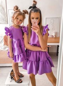 Sukienka Pakuten rozkloszowana mini bez rękawów