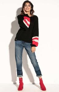 Sweter Fobya z moheru w stylu casual