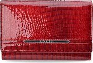 Czerwony portfel world-style.pl