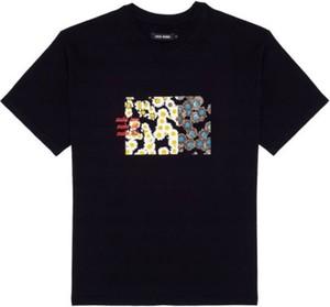 Czarna bluzka LOCAL HEROES z bawełny w młodzieżowym stylu