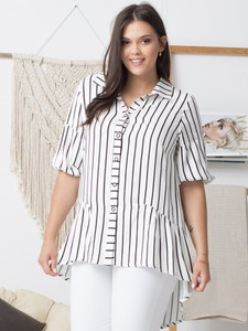 Koszula KARKO w stylu casual z tkaniny
