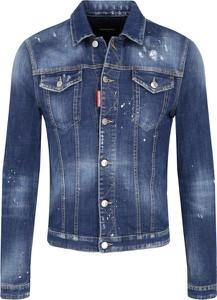 Kurtka Dsquared2 z jeansu w młodzieżowym stylu