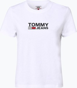 T-shirt Tommy Jeans w stylu casual