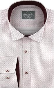 Koszula Dust. z klasycznym kołnierzykiem z tkaniny