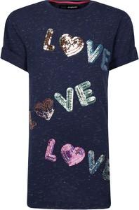 Koszulka dziecięca Desigual z krótkim rękawem