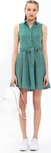 Sukienka Gate mini z bawełny koszulowa