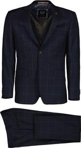 Niebieski garnitur Lavard