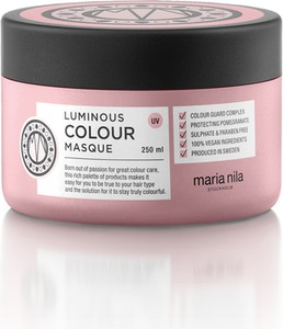 Maria Nila Luminous Colour Masque 250ml - maska do włosów farbowanych
