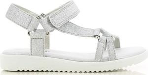 Srebrne buty dziecięce letnie V+j