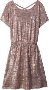 Różowa sukienka dziewczęca bonprix bpc bonprix collection