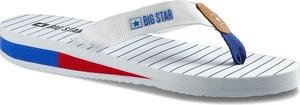 Klapki Big Star ze skóry ekologicznej