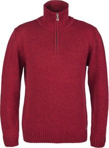 Czerwony sweter M. Lasota w stylu casual
