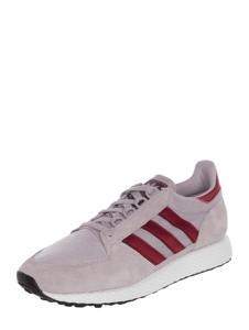 Buty sportowe Adidas Originals ze skóry na koturnie