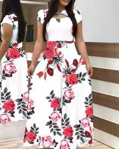 Sukienka Kendallme z krótkim rękawem maxi