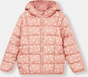 Różowa kurtka dziecięca Sinsay