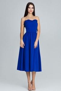 Sukienka Figl gorsetowa bez rękawów