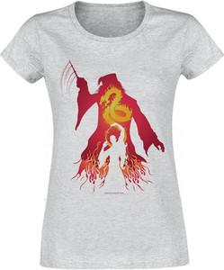T-shirt Emp z okrągłym dekoltem z bawełny z nadrukiem