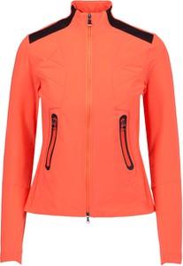 Pomarańczowa bluza Bogner z dżerseju krótka