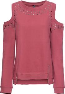 Bluza bonprix RAINBOW w sportowym stylu krótka
