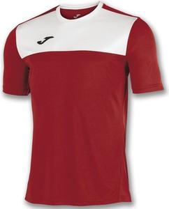 Czerwona koszulka dziecięca Joma z tkaniny