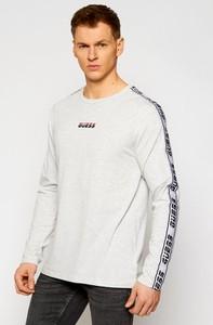 Koszulka z długim rękawem Guess z długim rękawem w młodzieżowym stylu
