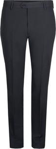 Czarne spodnie liu-jo z tkaniny bez wzorów