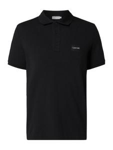 Koszulka polo Calvin Klein z krótkim rękawem z bawełny