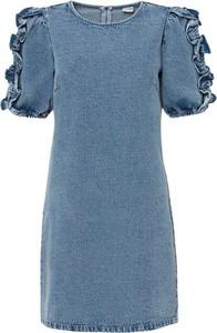 Sukienka bonprix z bawełny mini