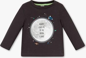 Brązowa koszulka dziecięca Baby Club dla chłopców