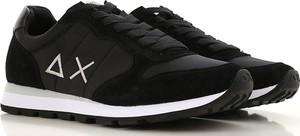 Buty sportowe Sun68 sznurowane w młodzieżowym stylu
