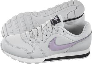 Buty sportowe Nike z płaską podeszwą md runner sznurowane