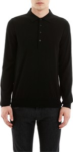 Czarna koszula Cc Collection Corneliani w stylu casual z długim rękawem