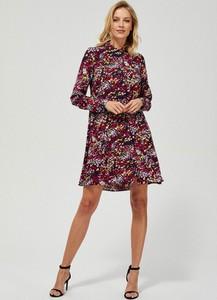 Sukienka Moodo z długim rękawem mini