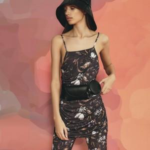 Sukienka Reserved w stylu casual z dekoltem w karo mini