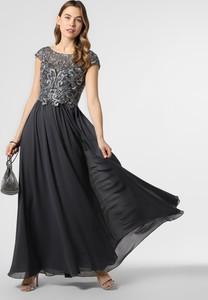 Sukienka Luxuar Fashion z krótkim rękawem rozkloszowana