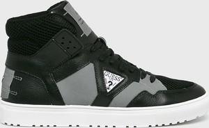 Czarne buty sportowe Guess Jeans