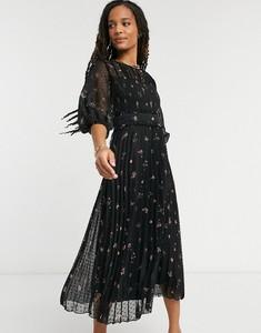 Sukienka Asos gorsetowa z tkaniny midi