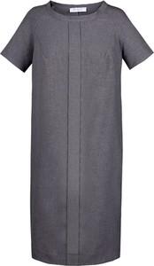 Sukienka Fokus mini z krótkim rękawem w stylu casual