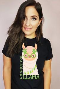 T-shirt Time For Fashion w młodzieżowym stylu z okrągłym dekoltem z bawełny