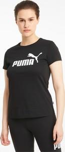 Bluzka Puma w sportowym stylu z krótkim rękawem
