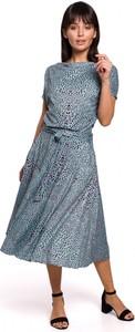 Sukienka BeWear w stylu casual rozkloszowana