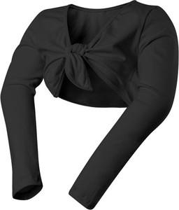 Czarna marynarka dziecięca Rennwear z bawełny