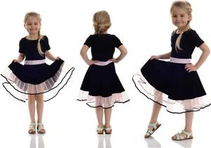 Sukienka dziewczęca Rennwear z bawełny
