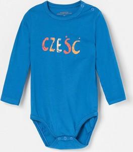 Niebieskie body niemowlęce Reserved